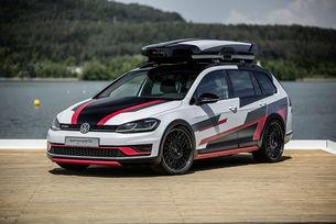 Volkswagen направи комби Golf Estate с двойно предаване