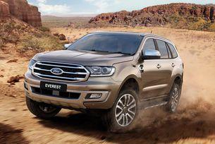 Ford представи обновения всъдеход Everest