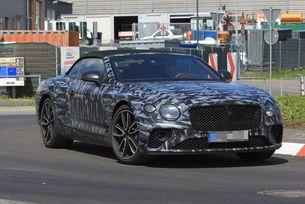 Bentley Continental GTC (2018) още по-агресивен