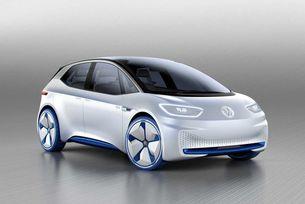 първият концептуален автомобил Volkswagen I.D. бе показан през есента на 2016 г. на автомобилното изложение в Париж