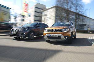 Dacia Duster DCI 110 4X4 срещу Nissan Qashqai 1.5 DCI