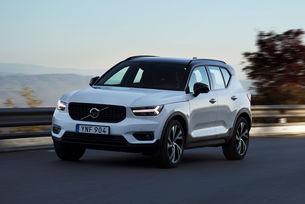 Volvo увеличава производството на кросоувъра XC40