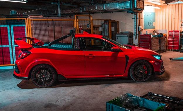 Honda Civic Type R се превърна в пикап