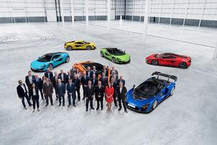 McLaren получава ключовете за нов център