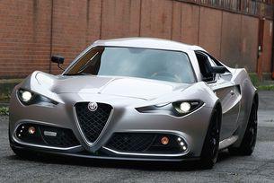 Италианско студио показа своя версия на Alfa Romeo 4C