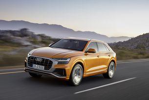 Audi представи новия сериен кросоувър Q8
