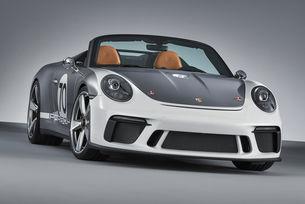 Концептът Porsche 911 Speedster е подарък за юбилея