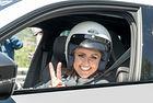 Няколко седмици преди официалното представяне на автомобила, Skoda повери на немския пилот Сабине Шмиц един тестов Kodiaq VRS в опит да постави рекорд на Северната дъга на Нюрбургринг