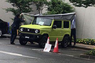 Suzuki Jimny (2018): Също като малък G-модел