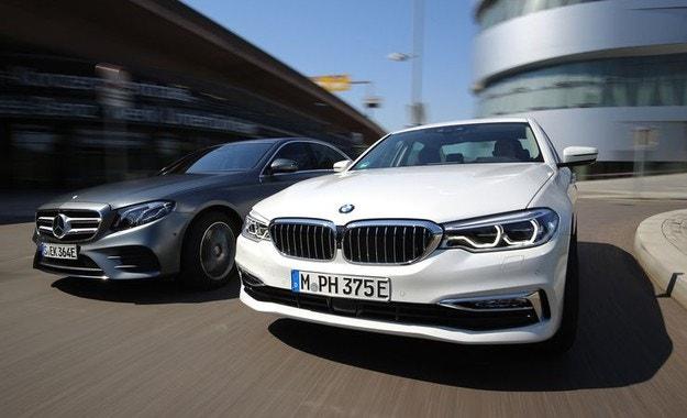 "BMW 530e срещу Mercedes Е 350 e: Да си купиш ""е"""