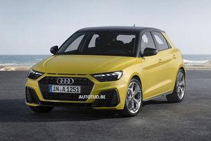 Разкриха дизайна на новия хечбек Audi A1