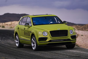 Bentley Bentayga е готов за Пайкс Пийк