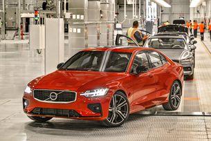 Световна премиера на новото Volvo S60 в Чарлстън