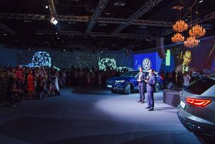Новият VW Touareg: Зрелищен дебют в България