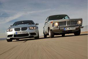 BMW 1800 TI/SA и BMW M3 (Е90): Бащи и деца