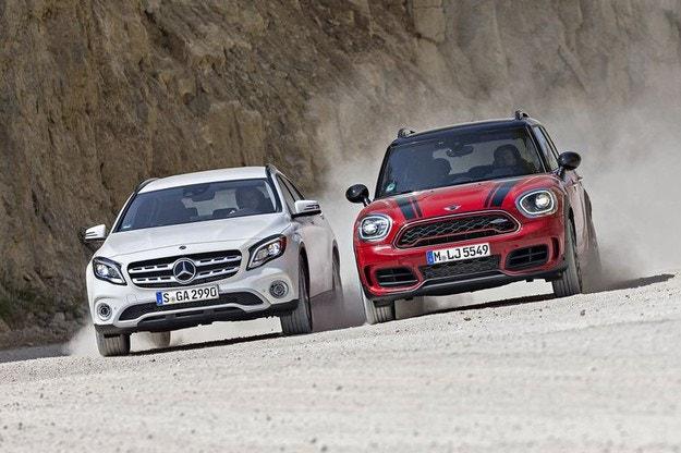 Mercedes GLA vs. MINI Countryman JCW