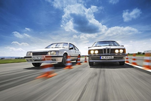 BMW 635 CSi и Opel Monza GSE