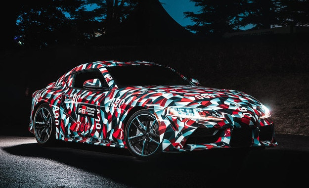 Серийната Toyota Supra дебютира през 2019