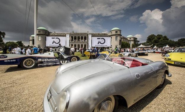 В Гудууд празнуваха 70 години Porsche