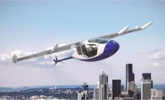Rolls Royce представи летящо такси