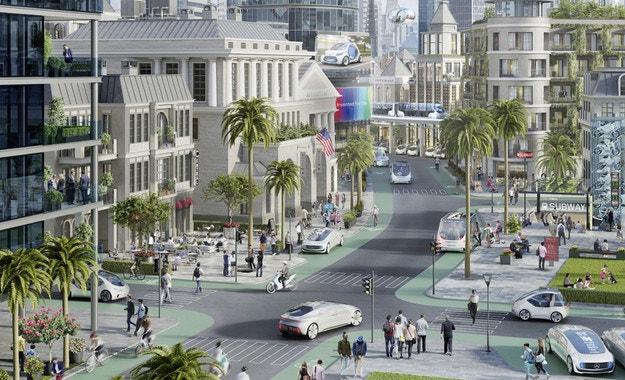 Bosch и Daimler пускат безпилотни совалки в Калифорния