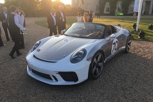 Porsche ще пусне лимитирана серия на 911 Speedster