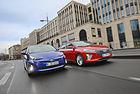 Hyundai Ioniq срещу Toyota Prius: Хибриден дуел