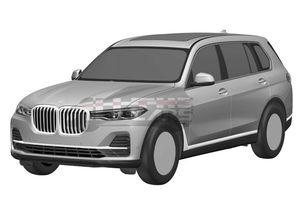 Серийното BMW X7: Патентни изображения