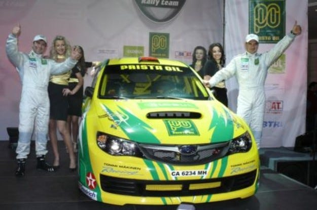 Prista Oil Rally Team