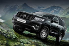 Всъдеходът Toyota Land Cruiser Prado доставя стоки