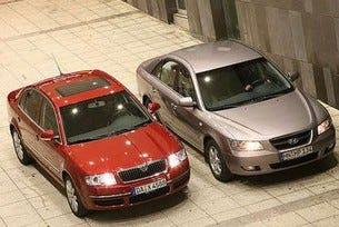 Skoda Superb vs. Hyundai Sonata