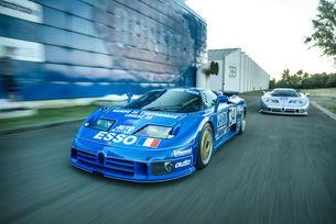 Невероятната история на два автомобила  Bugatti EB110