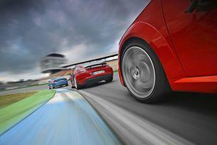 Audi TT RS, BMW M2, Porsche 718 Cayman