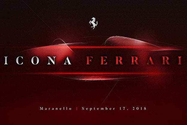 Ferrari подгрява с тийзър на нов модел