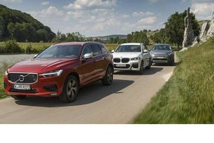 BMW X3 срещу Land Rover Discovery Sport и Volvo XC60