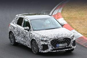 Audi RS Q3 на тестове във финален външен вид