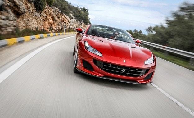 Ferrari Portofino: Дневна красавица
