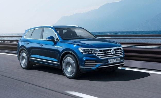 VW Touareg: Модерни времена