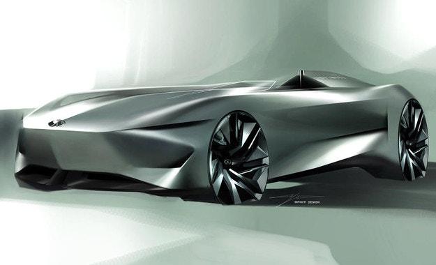 Електрифицираното бъдеще на INFINITI е Prototype 10