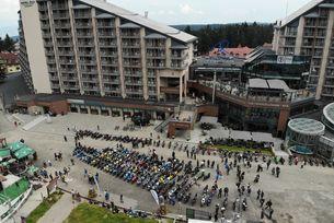 Над 150 мотоциклета Suzuki се срещнаха в Боровец