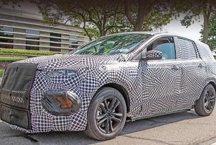 Прототип на кросоувър Ford изненадва с пропорциите