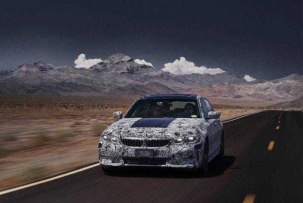 Тестват новото BMW Серия 3 в Долината на смъртта