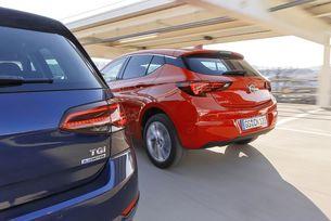 Opel Astra 1.4 CNG vs. VW Golf 1.4 TGI