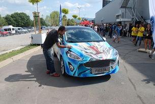 Какво показа Ford на фестивала Aniventure Comic Con