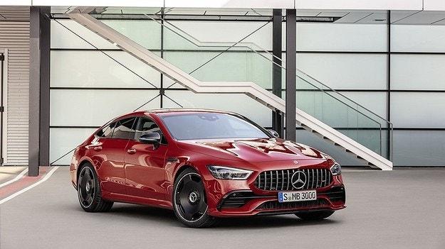 Mercedes-AMG GT 4-Door Coupe получи 367 к.с.