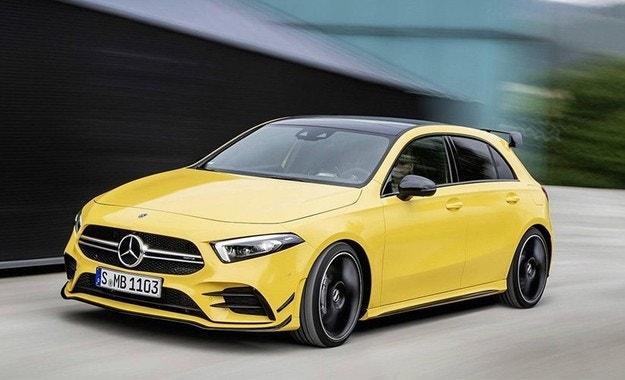 Новият Mercedes A-класа стана хотхеч с 306 к.с.