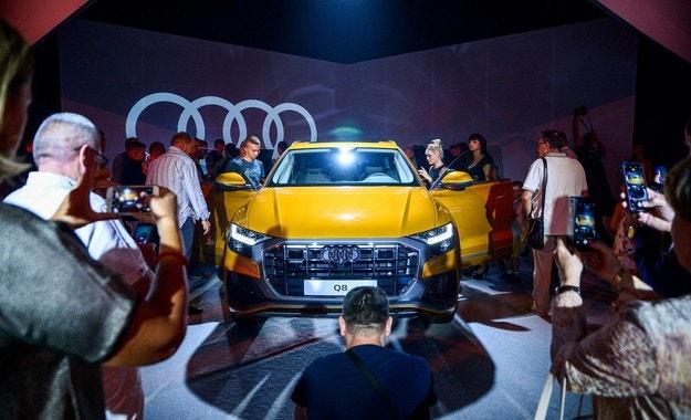 В София дебютира изцяло новия Audi Q8