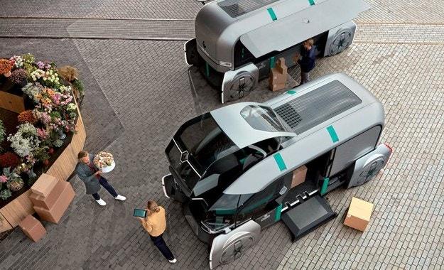 Запознайте се с роботизирания Renault EZ-PRO