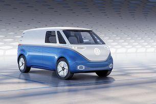 VW представи електрическия фургон I.D. Buzz Cargo