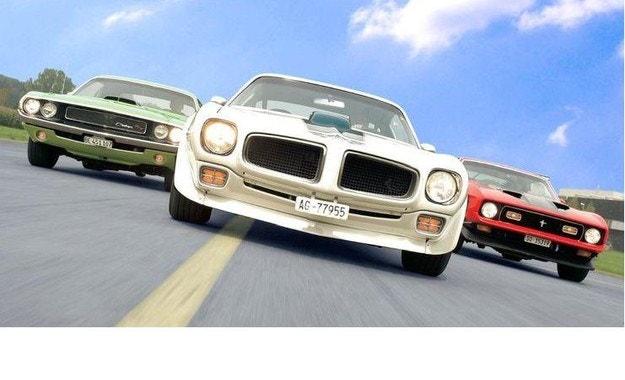 Dodge Challenger, Ford Mustang и Pontiac Trans Am: Мускули